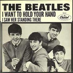 The best of the British Invasion. THIS STARTED IT ALL IN AMERICA; THEIR FIRST SINGLE IN THE USA, JAN. 1964.