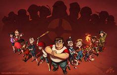 Kids Fortress 2 by Red-Vanilla19 #TeamFortress2