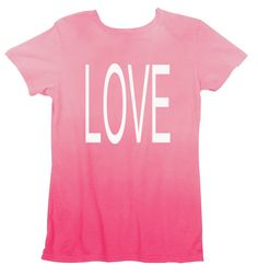 Super cute!!!  Stand out on the beach with this vibrant colored ombre tee...comes in fresh colors too...violet, turquoise, green, and pink.   This Custom Summer Ombre Tee is a wardrobe must!  Personalize phrase to the back for extra emphasis!