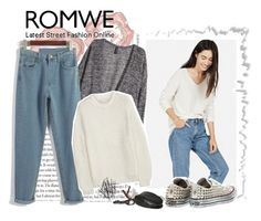 """""""Romwe Pants"""" by karv2 ❤ liked on Polyvore featuring H&M, STELLA McCARTNEY, Converse, Dolce&Gabbana and vintage"""