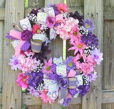 Front Door Wreath Summer Door Wreath Door Decor Silk Flower