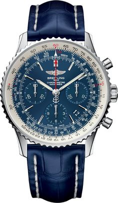 BRIETLING Navitimer Blue Sky Limited Edition 60e anniversaire £6,600.00 [500 Pieces] - cheap mens gold watches, mens digital watches, cheap mens fashion watches http://amzn.to/2sqEwBW