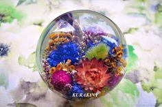 Купить Подарок на юбилей шар Русское поле 12 см, пресс-папье, в стиле модерн в интернет магазине на Ярмарке Мастеров