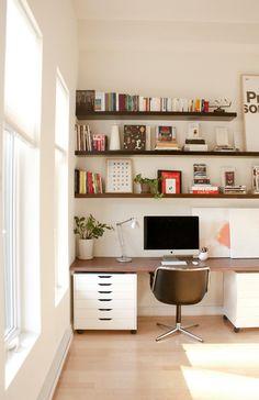 My office #knoll #pollock #shelves