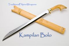 Not many Filipinos can handle the large sword called Kampilan, but it does not mean that the Kampilan bolo was created just for people who cannot handle a bigger bolo.  This Kampilan is more of a commoners sword where the bigger Kampilan is more of a status symbol.