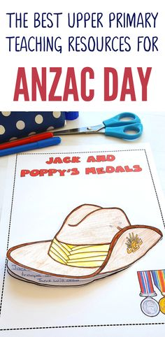 This great range of Anzac Day activities and printables have been designed especially for Australian and New Zealand upper primary students. The seven activities included in the pack are: Mini-Unit Title Page History Activities, Teaching History, Writing Activities, Educational Activities, Teaching Resources, Teaching Ideas, Anzac Day Australia, Primary Teaching, Primary School