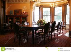 victorian dining rooms - Google Search