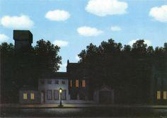 Magritte, l'impero delle luci I (1950)