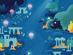TWO DOTS / the Sunken City