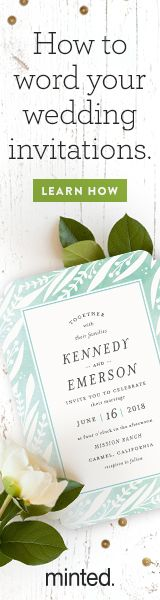 Choosing the right wording for your wedding invitation suite can be tricky, but the process doesn't need to be stressful. To help you with your wedding planning, we've put together a few simple rules of thumb that will get you headed in the right direction. Read more on Minted.