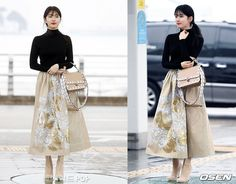 170223 Suzy Airport Fashion - K-StarGlamour - KPOP Fashion & Korean Drama Fashion
