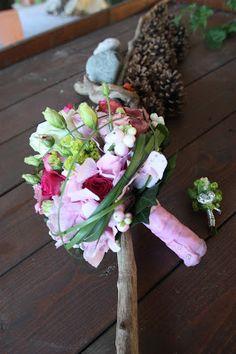 Brautstrauß in Rosa und Pink von Passiflori Penzberg