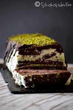 SchokoladenFee: Neapolitanische Eistorte