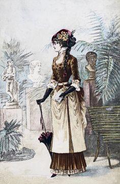 Late 1800s Fashion ~ LÁMINAS VINTAGE,ANTIGUAS,RETRO Y POR EL ESTILO.... (pág. 375) | Aprender manualidades es facilisimo.com