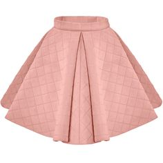 Pleated Rhomb Skirt (25.130 RUB) ❤ liked on Polyvore featuring skirts, floral print a-line skirt, a line patterned skirt, suede skirt, pink pleated skirt and pleated a line skirt
