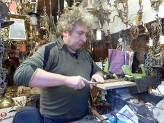 #craftsman at #WORK  #artisan #soho #lighting #antique #vintage #renovation #repair #workshop #forsale