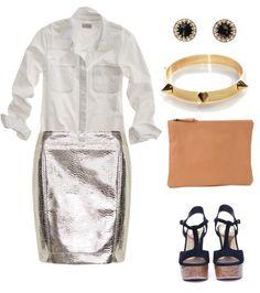 Ways To Wear White Button Downs