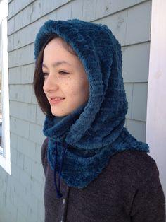 Fleece hood and balaclava.