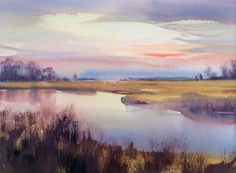 marshlands by Betsy Jacaruso