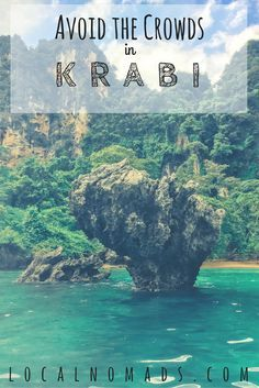 Krabi Thailand Ao Nang Tonsai