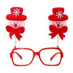 Fashion Christmas Glasses Adult Children Party Eyeglasses Santa Snowman Elk Glasses Frame on AliExpress Christmas Glasses, Adult Children, Glasses Frames, Elk, Wedding Events, Eyeglasses, Snowman, Santa, Accessories