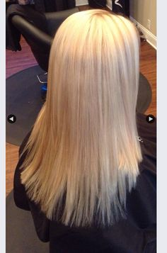 Clipped by Mandy! Done by Mandy!! Perfect for summer blonde look.