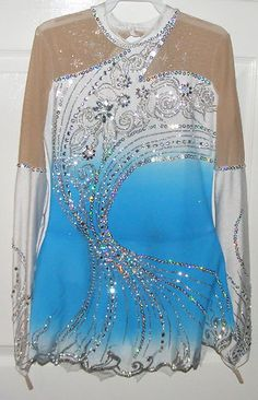 Ice Figure Skating dress/Rhythmic gymnastics leotard/Baton Twirling Made to Fit