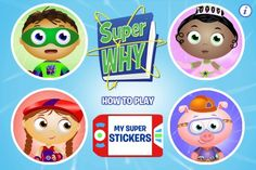 New KidsDesk.net App Review: Super Why! from www.KidsDesk.net - great app for kids learning to read and spell