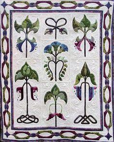 Customer quilt - quilted by Karen McTavish.