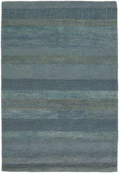 Chandra Rugs Dejon Hand-Tufted Contemporary Blue Rug - DEJ19603
