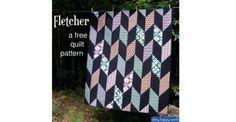 Fletcher Free Quilt Pattern Shiny Happy World