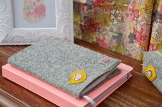 Harris Tweed & Liberty Notebook and Cover by CarberryCrafts on Etsy https://www.etsy.com/uk/listing/557417476/harris-tweed-liberty-notebook-and-cover
