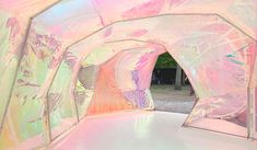 The iridescent pavilion at the Serpentine Gallery designed by Selgascano. The Adventure Zone, Adventure Time, Collage Poster, Have A Good Weekend, Deco Design, Architecture, Installation Art, Pavilion, Color Inspiration