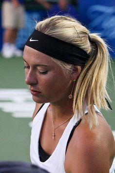 The Many Headbands of Maria Sharapova: Celebrity Headband Style