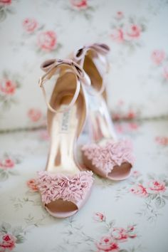 Pink shoes ♥so lovely
