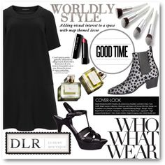 DLR by tanja133 on Polyvore featuring moda, Manon Baptiste, Yves Saint Laurent, Bobbi Brown Cosmetics, Who What Wear and Garance Doré