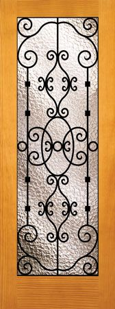 Signamark Portofino pantry door. Would look better in a dark stained knotty alder.