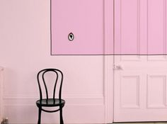 Mur rose poudree dulux valentine