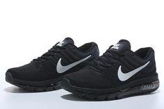 sale retailer e86f3 8df52 Nike Air Max 2017 Women Men Black White Shoes Unique shape the detail design  of ultra light, ultra breathable wear feeling, strong AIR cushion, ...