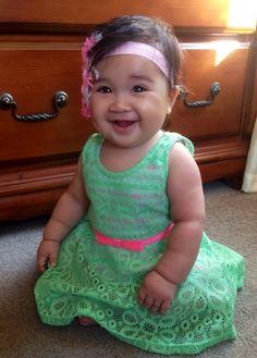 Half white, half Burmese. Beautiful baby Bella from ymta999 YouTube Channel. Girls Dresses, Flower Girl Dresses, Burmese, Beautiful Babies, Channel, Wedding Dresses, Youtube, Baby, Fashion