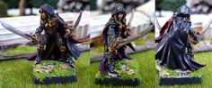 Deladrin, female assassin. #rpg #D #pathfinder #miniatures #wargames From http://frikidiario.blogspot.com.es