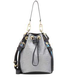 KENZO Bike Bucket Bag. #kenzo #bags #shoulder bags #leather #lining #bucket #metallic #