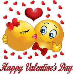 Happy Valentine's Day Copy Send Share Send in a message, share on a timeline or copy and paste in your comments. Symbols Emoticons, Funny Emoticons, Emoji Symbols, Smileys, Valentines Day Sayings, Valentines Day Background, I Love You Pictures, Love Images, Valentine's Day Quotes