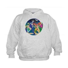 Tropical Creation Child's Hoodie