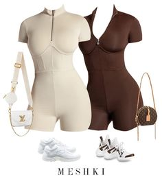 Boujee Outfits, Baddie Outfits Casual, Style Outfits, Cute Swag Outfits, Cute Comfy Outfits, Dope Outfits, Teen Fashion Outfits, Polyvore Outfits, Trendy Outfits