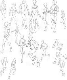 Running poses