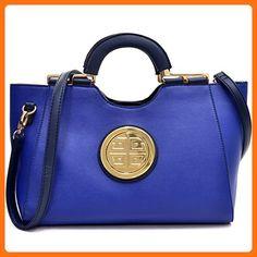 84cb0e6dbfca Dasein Goldtone Loop Handle Shoulder Handbag with Removable Shoulder Strap  - Overstock™ Shopping - Great Deals on Dasein Shoulder Bags