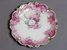 Image result for ornate white rose dishes