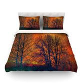Found it at AllModern - Silhouettes Duvet Cover Collection