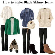 outfits black jeans - Buscar con Google